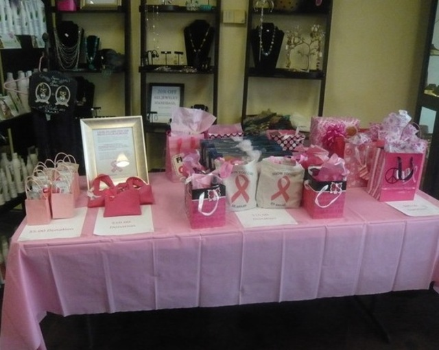 Vasari Salon Bangstyle Breast Cancer