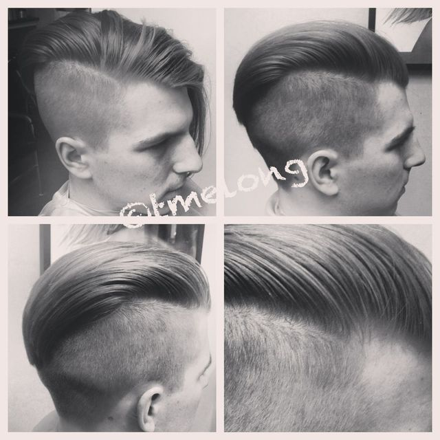 Versatile undercut for Gregor. Super fun style.