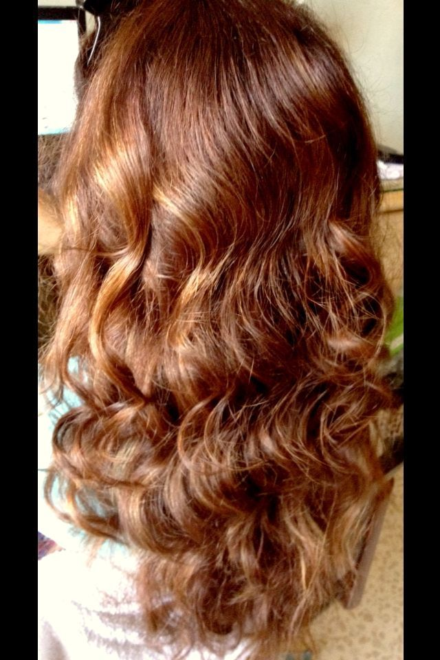 Very long curls ! Tongs