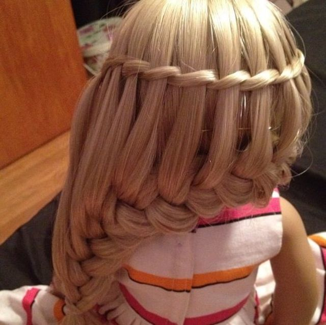 Waterfallbraid & frenchbraid
