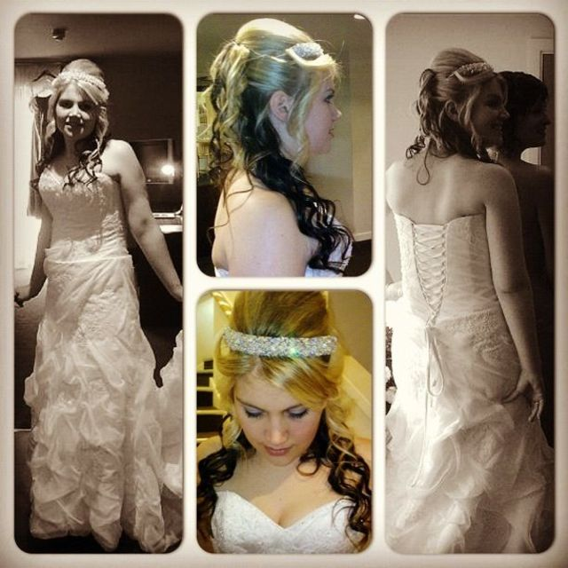 Wedding Hair/curls