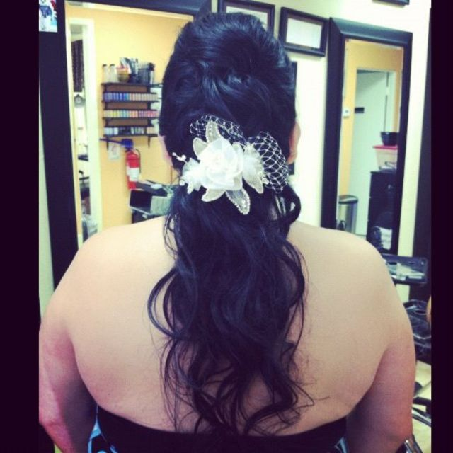 Wedding Pony Tail