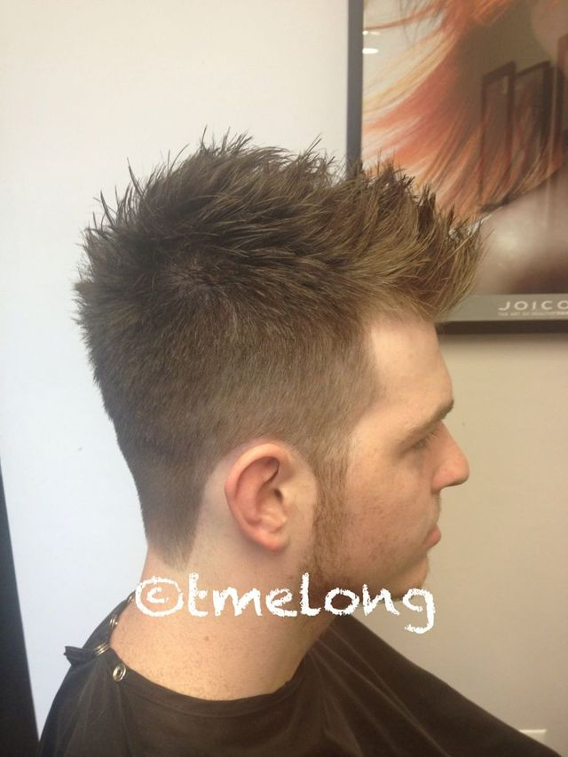 William; scissor cut with major texture