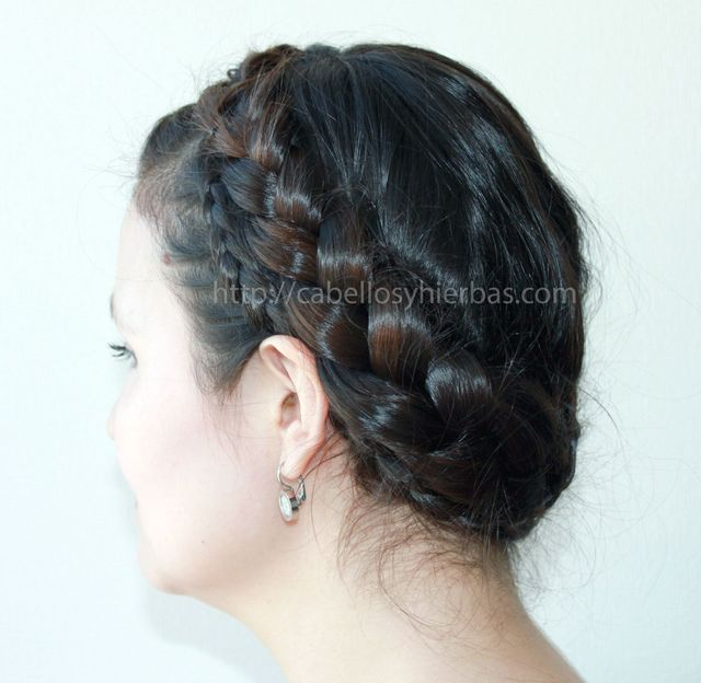 a braided crown