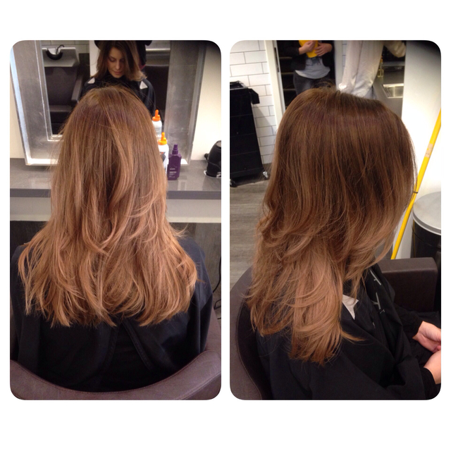Roundbrush blowdry