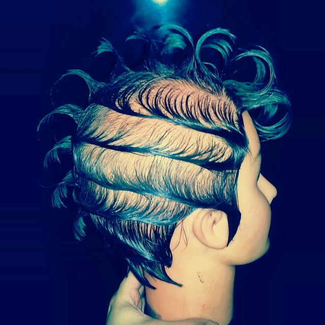 Freehand. Comb Waves & Mini Wet Set