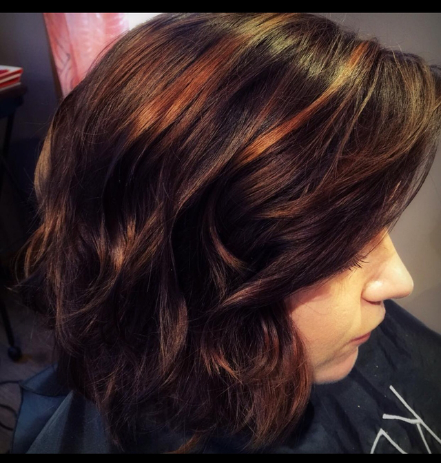 Beautiful Copper tones using Color.Me by KM