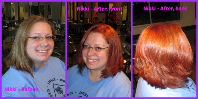 Nikki - Before & After