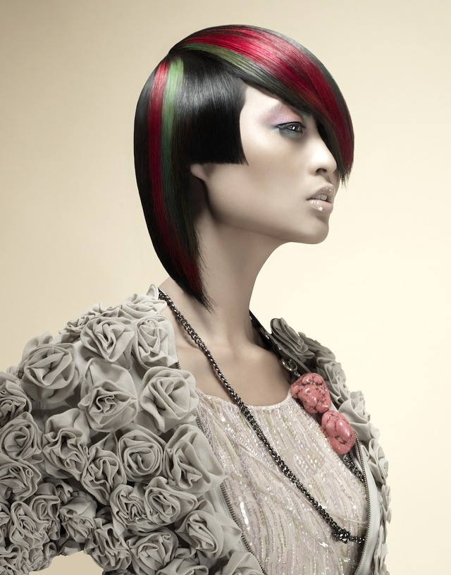Haircolor & Styling:  Sue Pemberton  Photography & Cutting:  Damien Carney