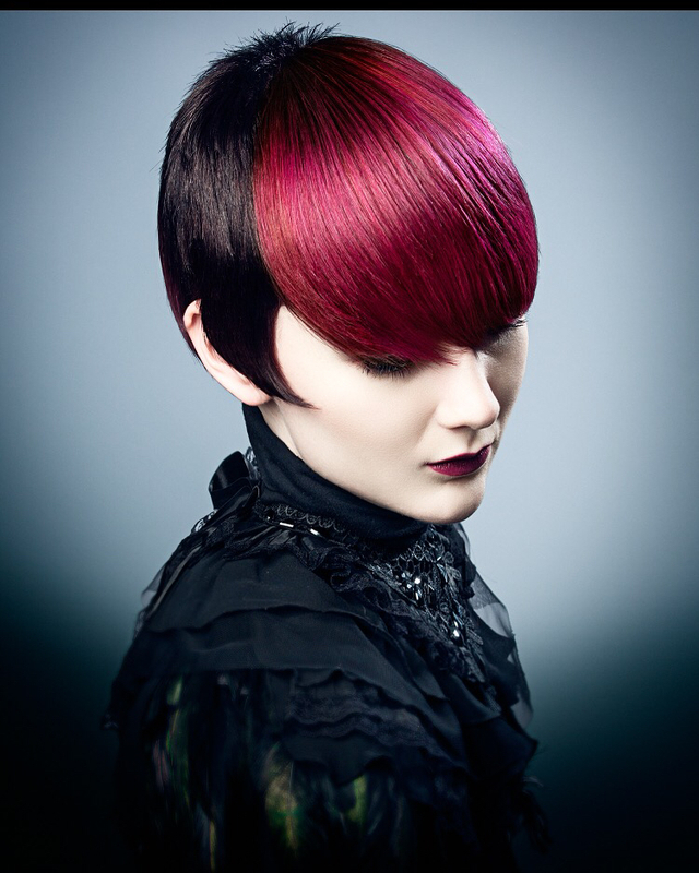 From Signature for Alfaparf  Hair by Paul Stafford  Colour Aidan Bradley  Photography Lee Mitchell