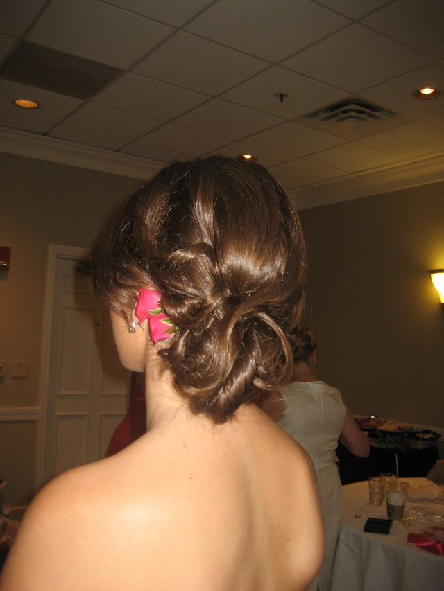Special occasion hair