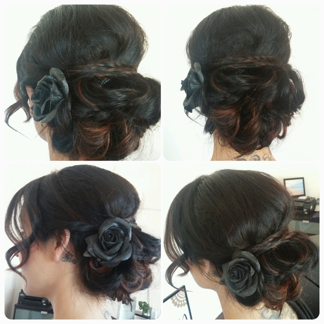 updo/formal hair