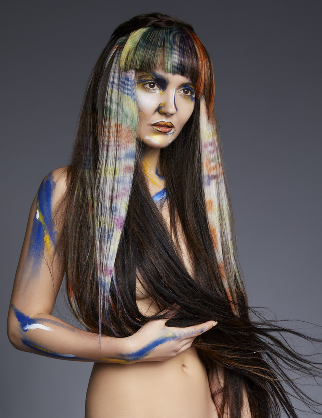 Mandy Rogers-Hunt & Gather hair company-Neo Impressionist Collection image 2