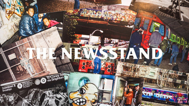 Newsstand-Collage