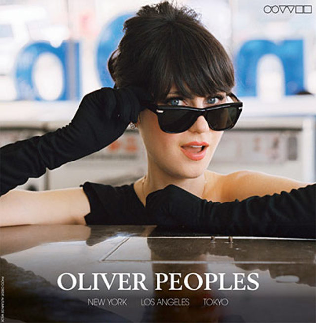 Oliver Peoples feat. Zooey Deschanel