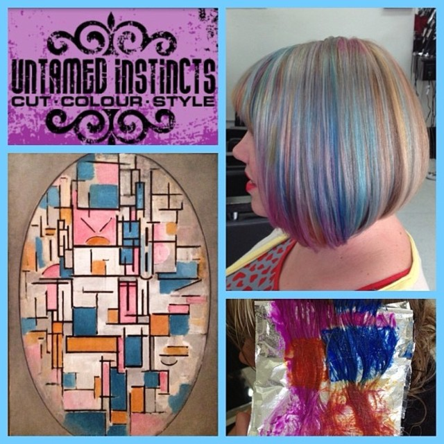 MONDRIAN Hair Colour Design