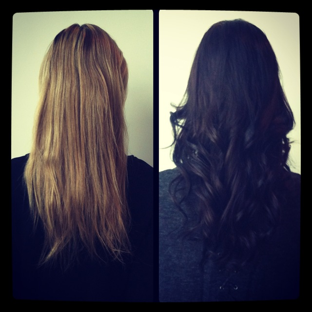 Haircolor(before/after) by jenniguccihair