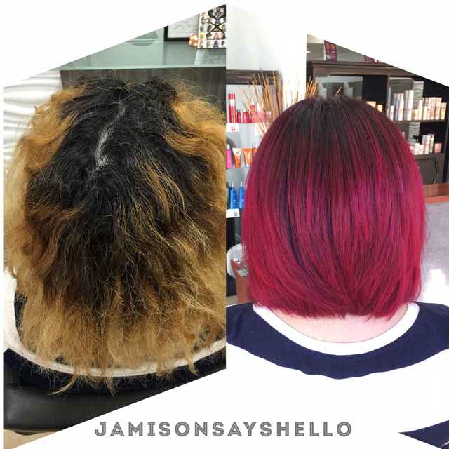 Red Hot Hair Transformation