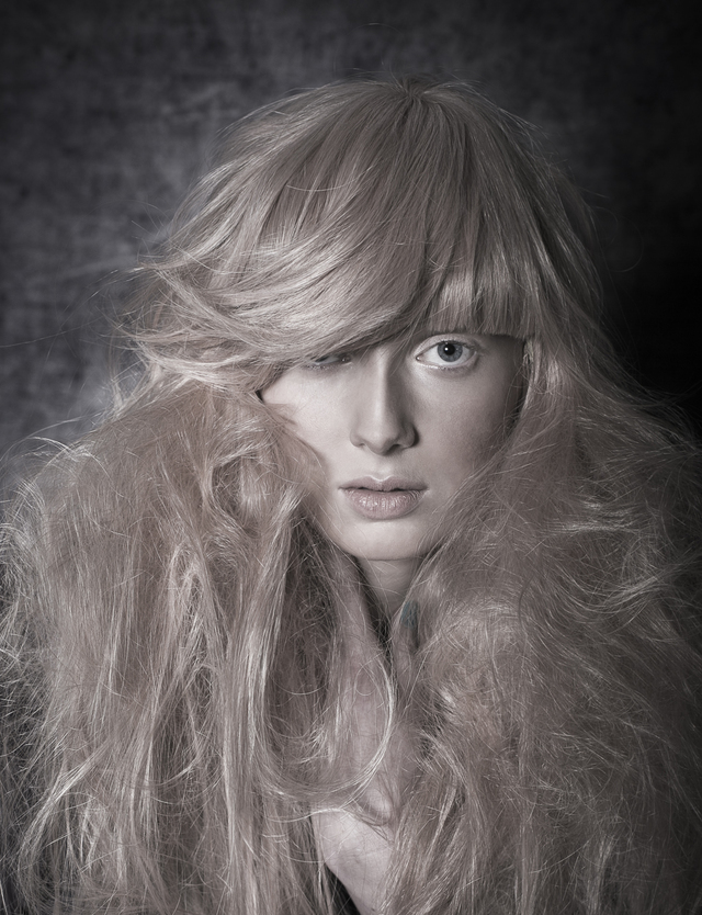 Hair- Mark Higgins  Make-up- Adrian Lampard Photography- Kaye Rubi Styling- Net Peterson  Post- COS