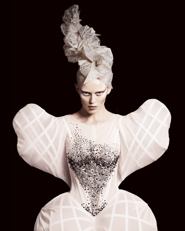 British Avant Garde Hairdresser of the Year Collection 2010/11