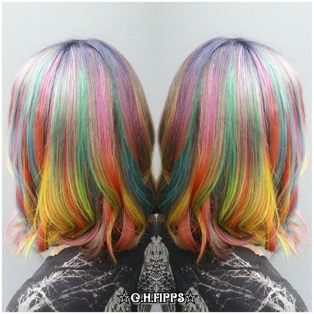 Smokey Rainbow Color Melt