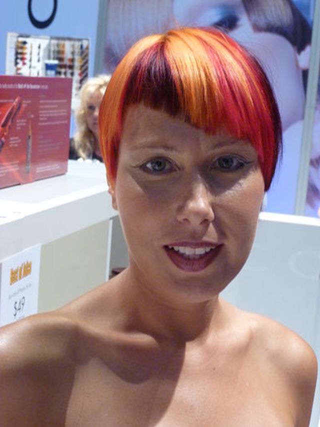 Joico Colors on  Miami based  model Anna Zatyseva