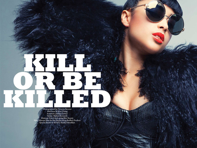 NATALIA KILLS for FAULT MAGAZINE 3
