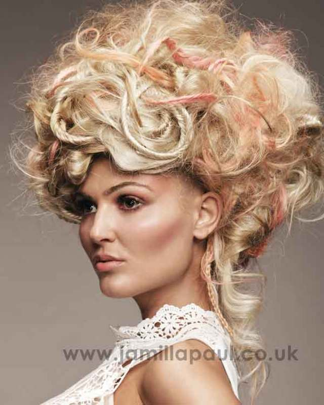 BHA Collection Updo