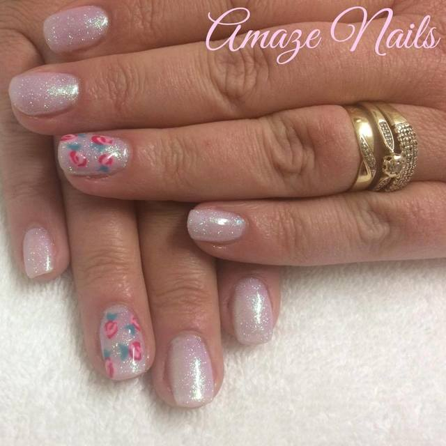 Rose Nail Art & Pigments