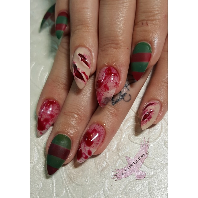 Freddy Krueger nails