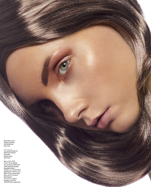 volt Cover, Hair by Sascha Breuer