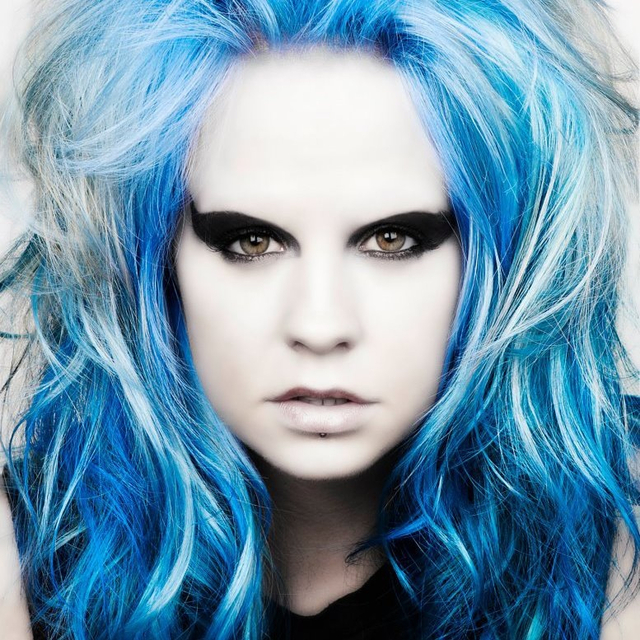Mutiny Hair Blue blue electric blue collection