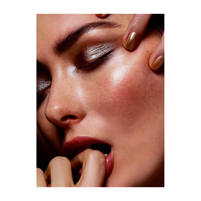 The Gold Luxe series!  Beauty editorial