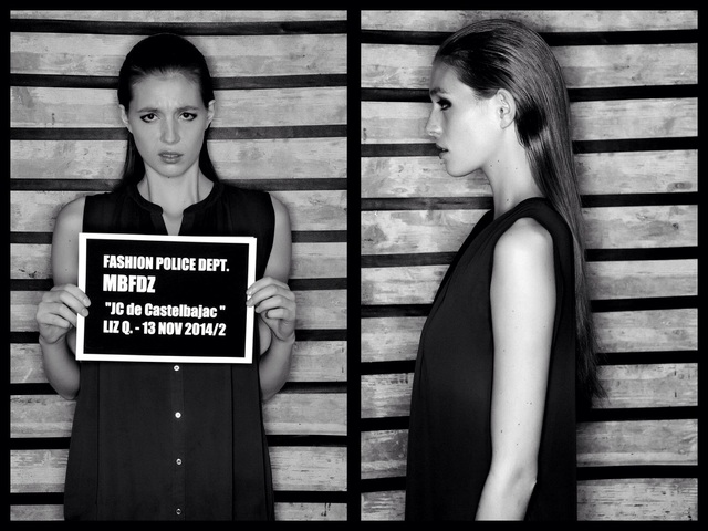 ARRESTED @ FASHION POLICE DEPT.