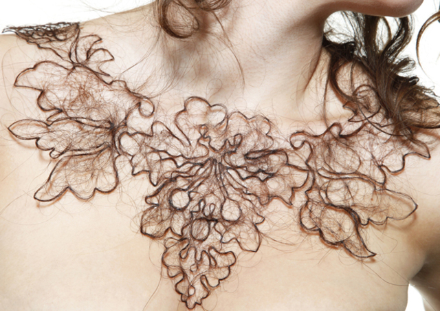Arts Thread Kerry Howley Hair Necklace3