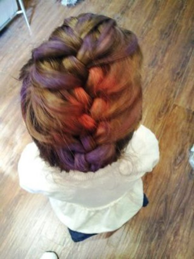 3d color bug braid