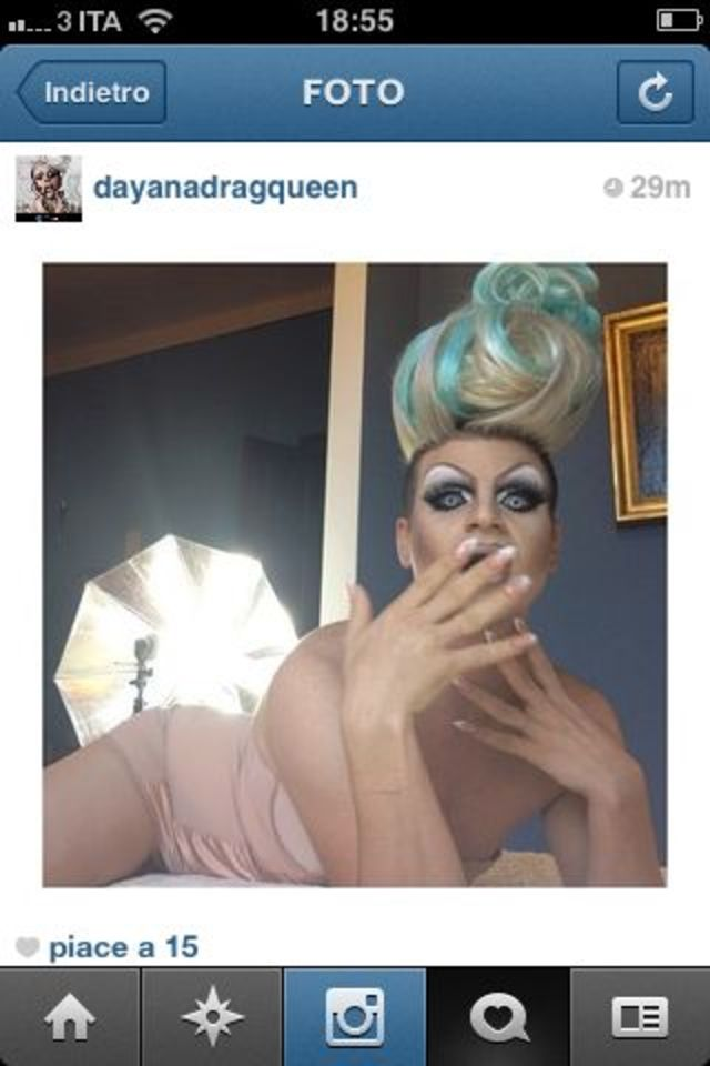 bakstage with dayana drag queen