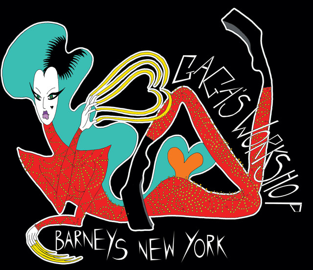BARNEYS NEW YORK LADY GAGA HOLIDAY CAMPAIGN