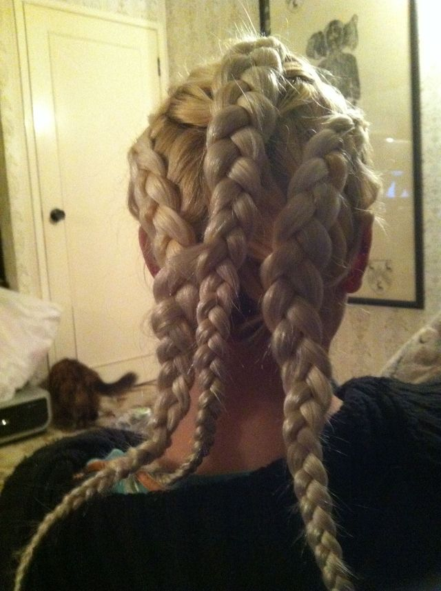 battle plaits