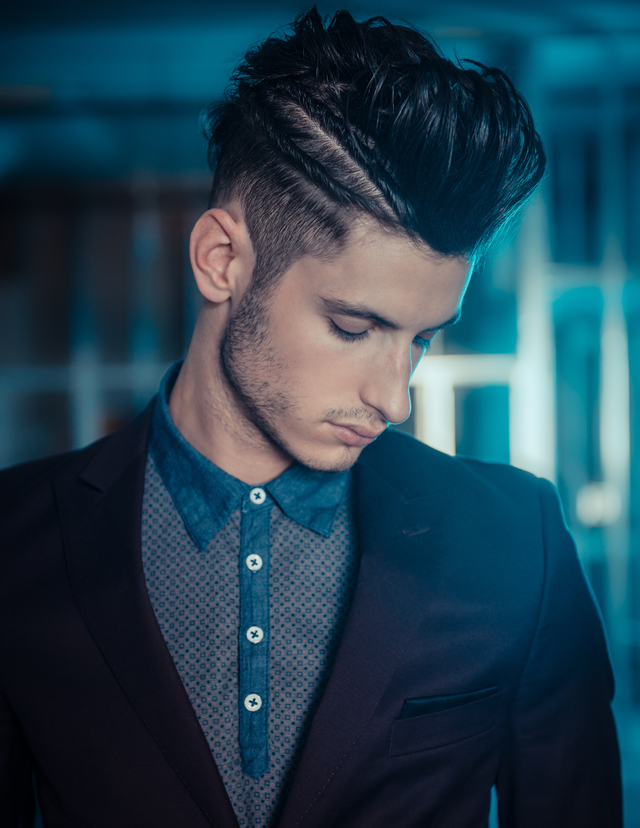 2015 Men's hairstylists of the year entry
