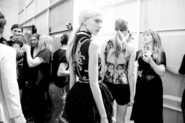 Backstage with Sass & Bide at LFW 2012
