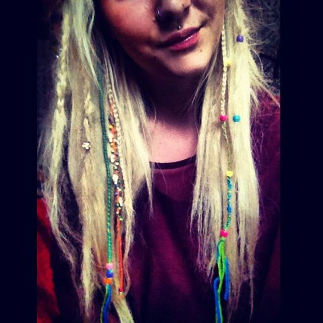 beads, braids and dreads
