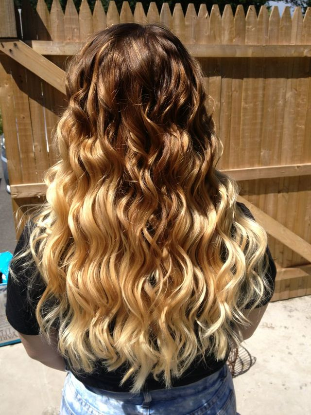 beautiful ombré I did last week.