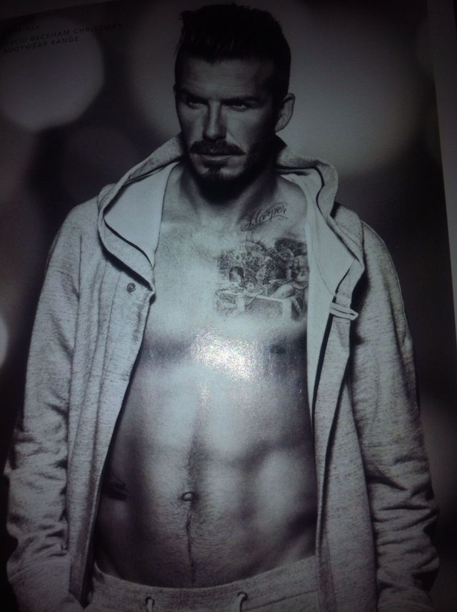 becks , pecks @ London fashion week ?
