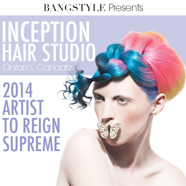 Congrats to Luigi and Inception Hair Studio!!!