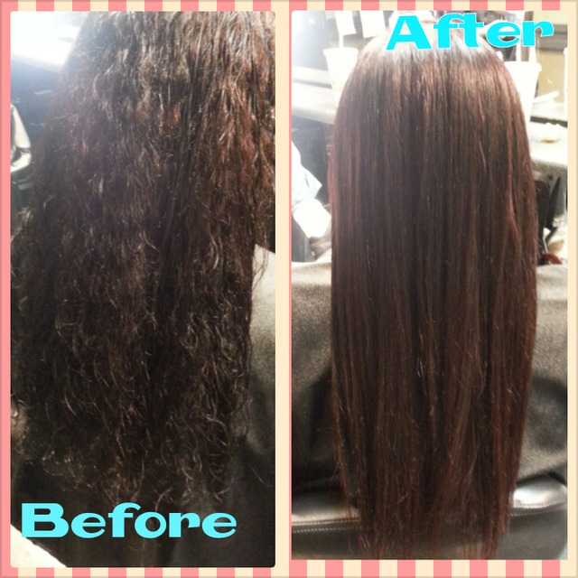before after straighten