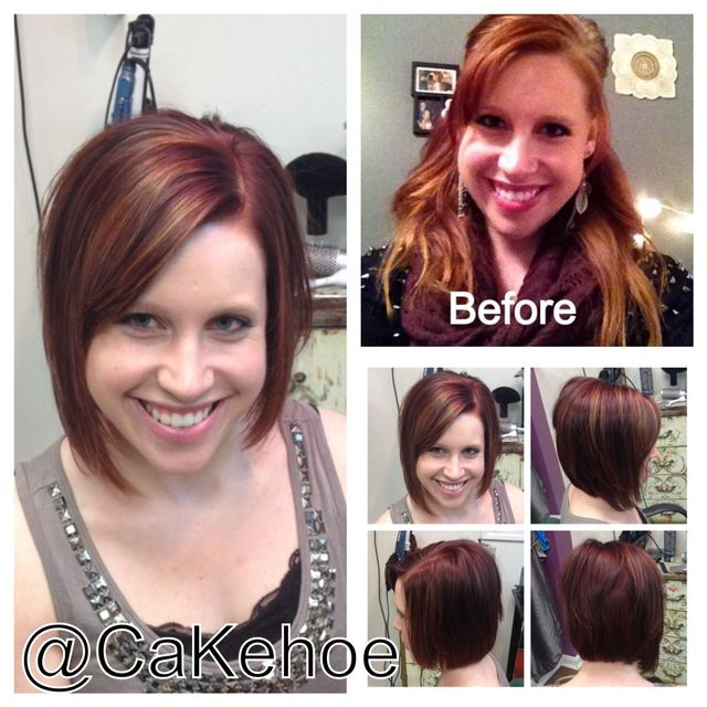 before and after asymmetrical red