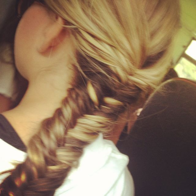 best friends first fishtail