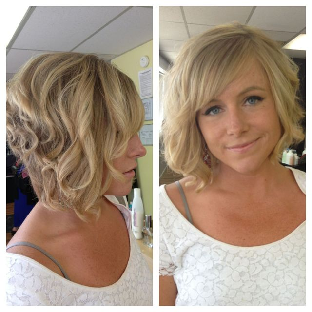 blonde asymmetrical