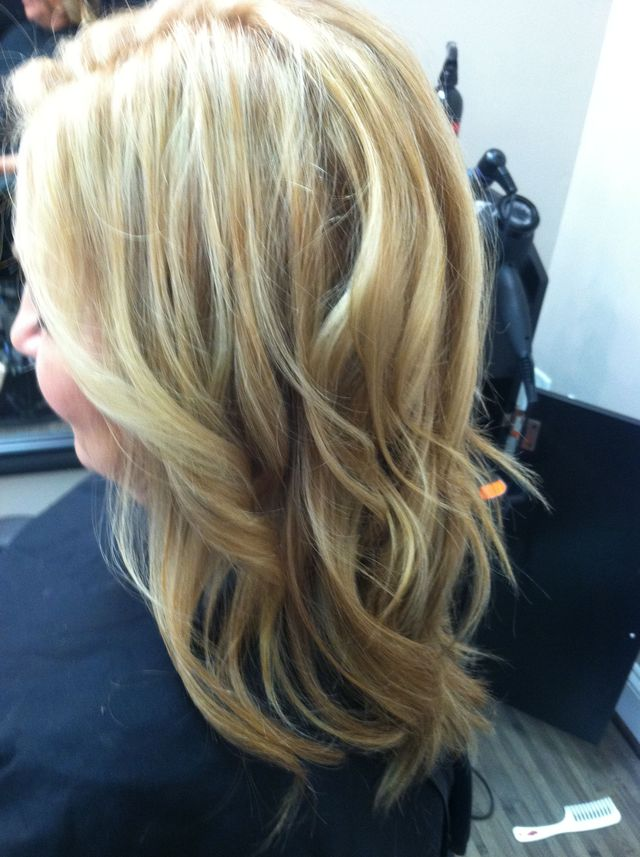 blonde fall color